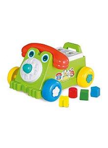 Brinquedo Didático Carrinho Infantil Rivaphone Calesita