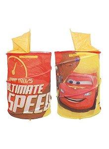 Porta Brinquedo Portátil Carros Disney - Zippy Toys