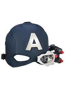 Capacete Lança Dardos Capitão América - Hasbro