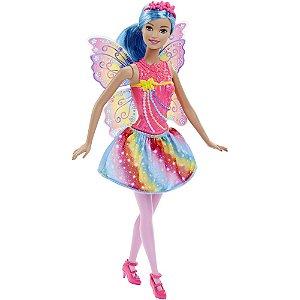 Barbie Reinos Mágicos - Fada do Arco-Íris - Mattel