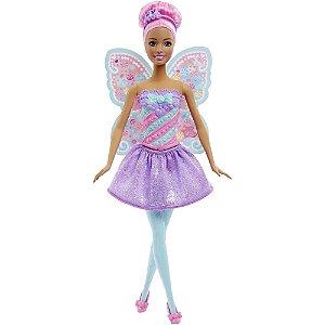 Barbie Reinos Mágicos - Fada do Reino dos Doces - Mattel