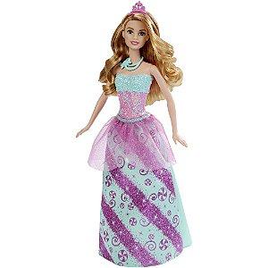 Barbie Reinos Mágicos - Princesa do Reino dos Doces - Mattel