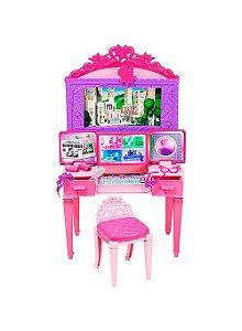 Barbie Super Princesa Centro de Comando - Mattel