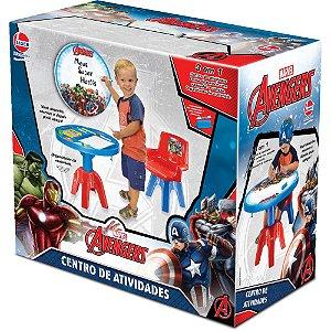 Mesa Infantil Os Vingadores 3 em 1 - Lider