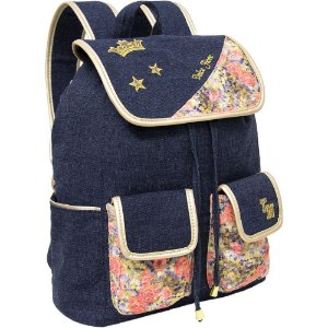 Mochila para Notebook Dolce Fiore Jeans