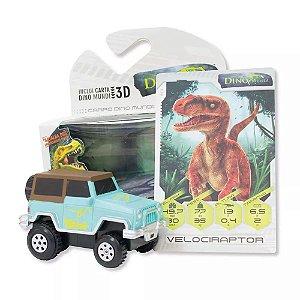 Dino Mundi Carro Velociraptor Fun - Mundi Toys