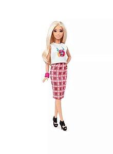Barbie Fashionistas Rock 'N' Roll Plaid - Mattel