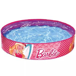 Piscina Glamourosa da Barbie 224 Litros - Fun