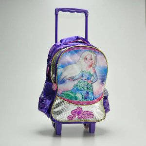 Mochilete Silver Princess Roxa - Kit