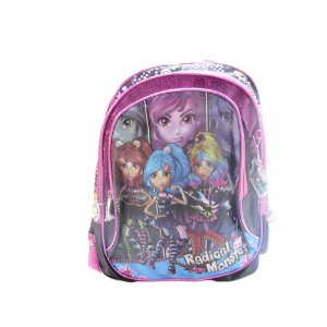 Mochila Radical Monster Rosa - Kit