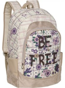 Mochila para Notebook Be Free Bege - TN Bolsas
