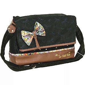 Bolsa Escolar La Petite Fleur Verde - TN Bolsas 3c5cb814dd