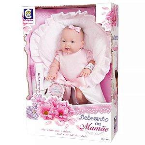Boneca Bebezinho Da Mamãe Com Mantinha - Cotiplás