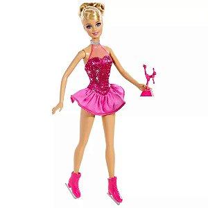 Barbie Patinadora No Gelo - Mattel