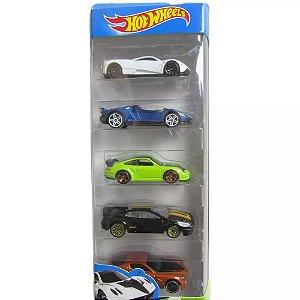 Pacote Com 5 Carros Hw Workshop - Mattel