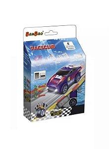 Blocos De Montar Raceclub Carro Sport Roxo Banbao
