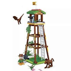 Blocos De Montar Torre De Observação Safári - Banbao
