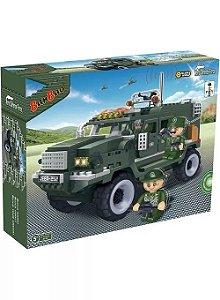 Blocos De Montar Defence Force Militar - Banbao