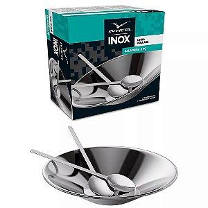 Saladeira de Aço Inox Invicta Linha Vollare 3 peças