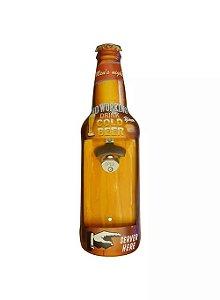 Placa Abridor de Garrafa Cold Beer