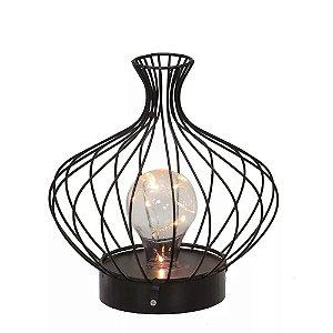 Luminária de Mesa Lâmpada 19cm - Espressione