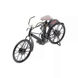 Bicicleta Decorativa de Metal Rojemac