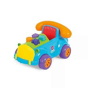 Brinquedo Didático Carrinho Telefone Cad Fone Calesita