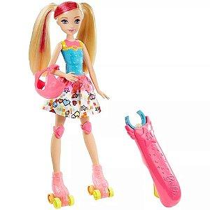 Barbie Patinadora Filme Mundo de Vídeo Game Mattel