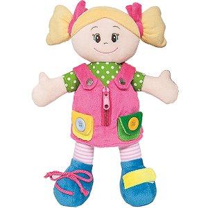 Boneca Aprendendo a se Vestir Buba