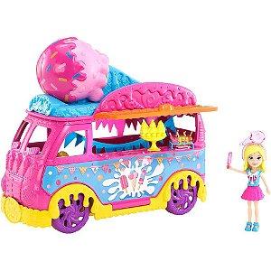 Polly Carnaval de Sorvetes Mattel