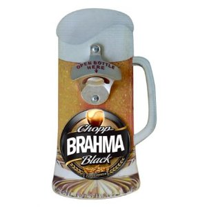 Placa Abridor de Garrafa Brahma