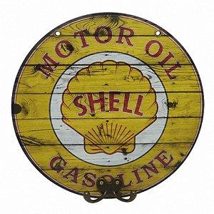 Cabideiro Decorativo Shell Gasoline