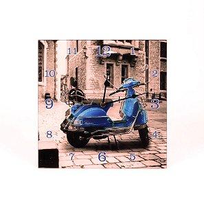 Relógio de Parede Moto Vespa Sépia Rojemac