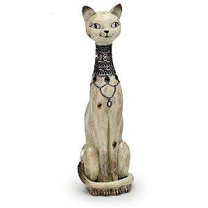 Peça Decorativa Gato Em Pé Espressione