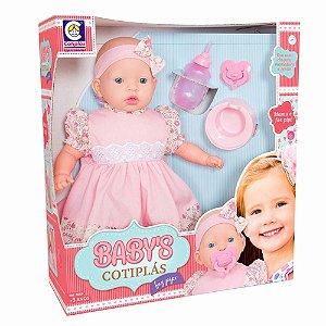 Boneca Cotiplás Baby's Faz Pipi