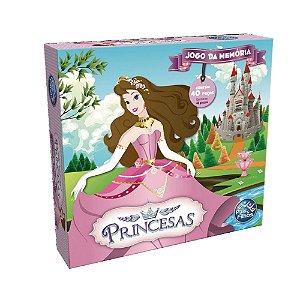 Jogo Da Memória Princesas Pais & Filhos