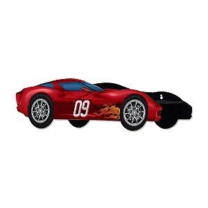 Prateleira Carro Vermelho Metal Geguton