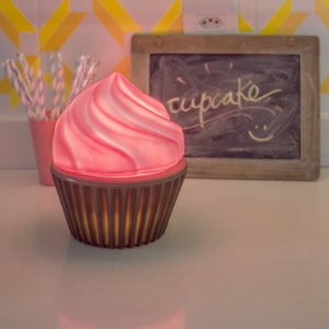 Abajur Luminária Cupcake Rosa Usare