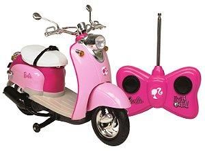 Moto De Controle Remoto Barbie Dreamcy Candide