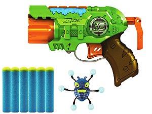 Lança Dardos Bug Attack Predator 3 Disparos Candide