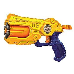 Laçador De Dardos Reflex Revolver TK-6 Zuru X Shot Candide