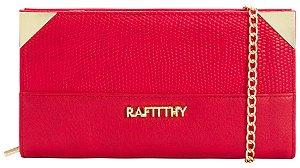 Carteira Feminina Rafitthy Be Forever Vermelha