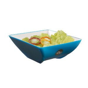 Saladeira Fusion 3,5L Azul - Ou Martiplast