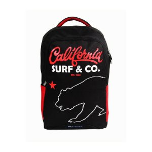 Mochila Dermiwil California Surf Preta