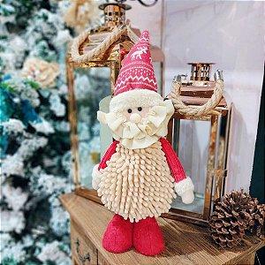 Papai Noel Decorativo Vermelho 31cm