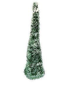 Árvore De Natal Pinheiro Cone Nevado