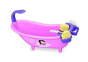 Banheira Rosa Banho de Espuma Tilin