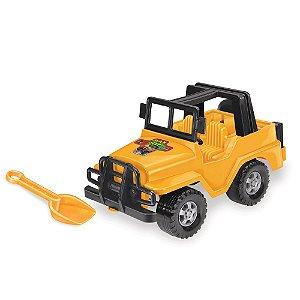 Carrinho Jeep Max Com Pá Tilin