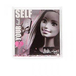 Porta Retrato Baribie Com Glitter Love Ludi