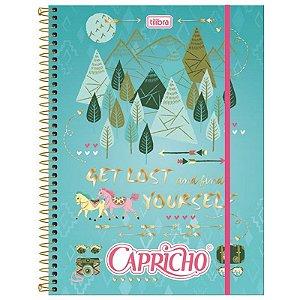 Caderno Capricho Top Digi Universitário 5 Matérias 160 Folhas Tilibra